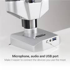 Microphone Desk Arm Loctek Store Loctek Triple Arm High End Desk Monitor Mount W