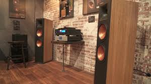 floor standing speakers for home theater klipsch reference rf 7 iii floor standing speakers ces 2017