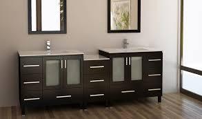 Modular Bathroom Vanity Design Element Galatian 88 Inch Modern Modular Bathroom