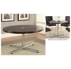 Height Of End Table by Furniture Adjustable Side Table With Adjustable Coffee Table