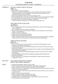 retail manager resume assistant retail manager resume sles velvet