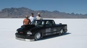 mitsubishi mini truck bed size lsx powered gmc sonoma runs 222 mph at bonneville lsx magazine
