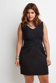 knot front sheath dress forever 21 plus 2000172459 plus size