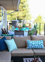 beachy boho outdoor dining room deck reveal part two the