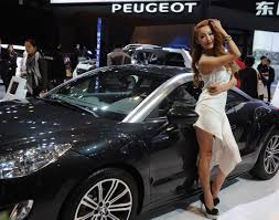 peugeot sports models strike a pose for peuogeot photos 2014 l a auto show auto