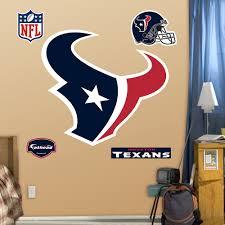 texans logo wall decals