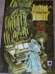 welcome foolish mortals to the haunted mansion comic book the