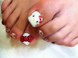 image of hello kitty foot jiyugaoka okusawa midorigaoka nail
