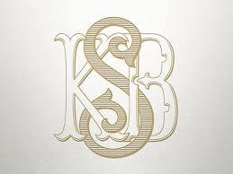 3 letter monogram 3 letter monogram for wedding monogram wedding logo design