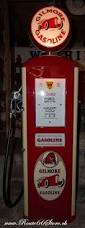 pompe a essence retro route 66 store gilmore gasoline gaspump model bennett 966
