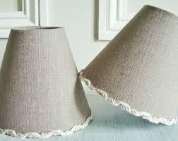 linen lampshades etsy