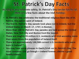 st patrick u0027s day facts history pictures meaning origin