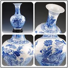 jingdezhen ceramics high grade blue and white porcelain vase