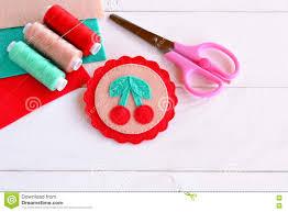 felt brooch hand embroidery fabric brooch felt art felt