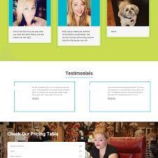 new website design for salon salon of charleston stingray branding