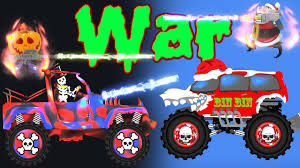 monster truck cartoon videos scary jeeps cars cartoons monster trucks for children street