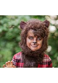 Werewolf Mask Kids Fierce Werewolf Costume
