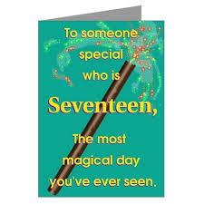 birthday cards 17th birthday cards seventeenth birthday wishes