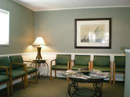 waiting room interior design with green chairs ideas for the