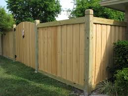 beautiful new capped wood fence u0026 gate design by mossy oak fence
