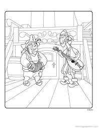 jake neverland pirates coloring pages printable coloring