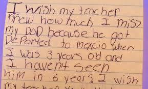 children u0027s heartbreaking u0027i wish my teacher knew u0027 letters expose