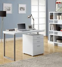 rimini computer desk u2013 white the brick