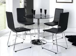 Glass And Chrome Dining Table Glass Dining Table And 4 Chairs U2013 Ceilinglight Co