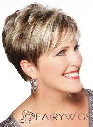 wigs for women over 50 with thinning hair straight capless short remy hair wigs highlights short