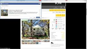 how to post your real estate listing on facebook youtube