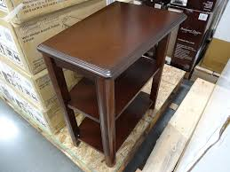 leick recliner wedge end table furniture gorgeous wedge end table recliner tables for shaped