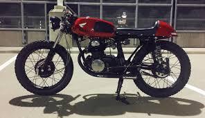 my 1972 honda cb175 cafe racer