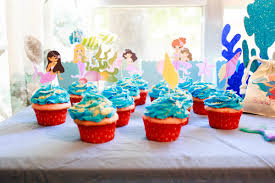 ocean inspired birthday party theme ideas for girls