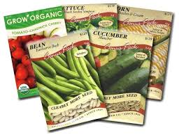seed packets garden vegetable seed packets corn bean cucumber lettuce and