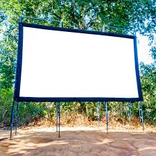 How To Make A Backyard Movie Screen by What You Need For A Diy Backyard Movie Theater Family Handyman