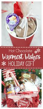hot chocolate gift basket hot chocolate gift basket for christmas squared