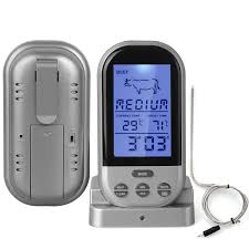 Backyard Grill Wireless Grilling Thermometer by Best Wireless Meat Thermometer For Smoker U2013 Zachsherman Me