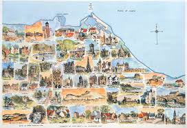 Edinburgh Map Ken Lochhead Gallery Publications Our Unique Range Of Maps Each