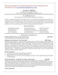 Cosmetology Resume Objective Resume Cosmetology Resume