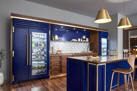 blue kitchen cabinets with copper hardware 6 kitchen trends to in 2019 pdi kitchen bath and