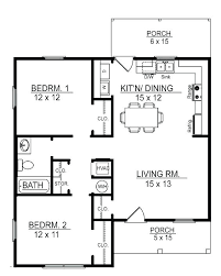 small two bedroom house plans 2 bedroom house plans with porches floor plans in front porch