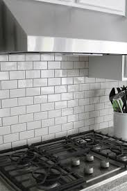 Kitchen Subway Tiles Backsplash Pictures by White Wood Subway Tile Open Shelving Uooncampus Uocontest