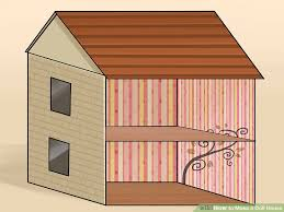 How To Build A Wooden Shed From Scratch by 4 Ways To Make A Doll House Wikihow