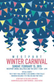 feb 15 winter carnival schedule westport arts council