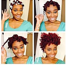 stranded rods hairstyle twist curl two strand twists added perm rods and styled