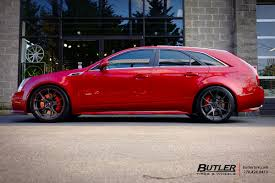 cadillac cts tire size cadillac cts v with 20in vorsteiner v ff 103 wheels exclusively