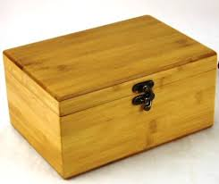 beautiful essential wooden bamboo storage box