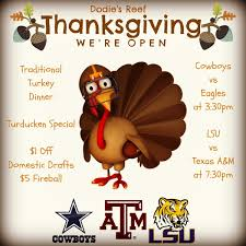 restaurants open on thanksgiving in new orleans happy thanksgiving from dodie u0027s reef dodies reef