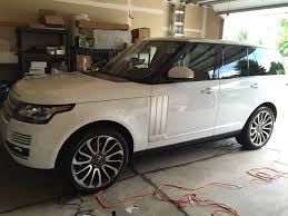 land rover lr4 white changed my order to yulong white