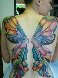 colourful butterfly wings